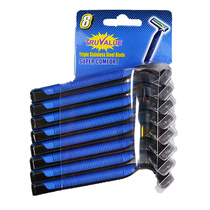 Truvalue 8pk Disposable Razors Mens