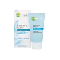 Garnier Skin Naturals Moisture Match 24H Light Softening Cream Blue Lotus Extract 50ml