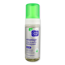 Clean & Clear Advantage Clear & Soothe Foaming Wash 150ml