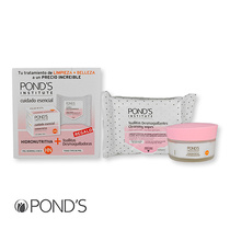Ponds Hydronourishing Cream & Makeup Remover Wipes 50ml