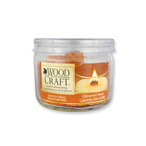 Woodcraft Scented Candle Cinnamon Toast 85g