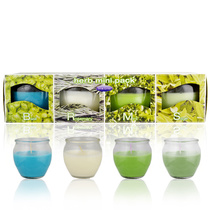 Star Lytes Herb Mini Scented Candles 4pk 227g
