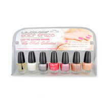 LA Colors Color Craze Nail Polish The Nude Collection 7pc