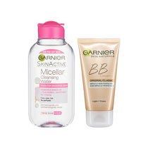 Garnier Skin Active Beautify Set Bb Cream Light 50ml and Micellar Cleansing Water 125ml