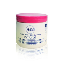 Veet Natural Inspirations Sugar Wax 250ml + 12 Fabric Strips