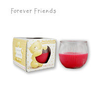 Forever Friends Warm & Cosy Cinnamon Scented Candle 85g