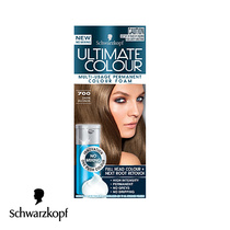 Schwarzkopf Ultimate Colour Multi Usage Permanent Hair Colour Foam 700 Dark Blonde