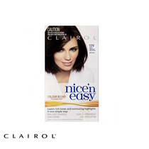 Clairol Nice N Easy Permanent Hair Colour 129 Rich Medium Neutral Brown