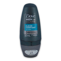 Dove Mens Care Anti Perspirant Deodorant Roll On Clean Comfort 50ml
