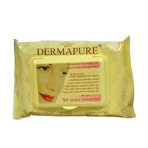 Dermapure Facial Wipes Oat Pk30