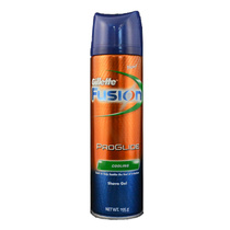 Gillette Fusion Shaving Gel Proglide Cooling 195g