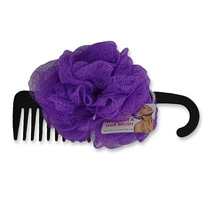 Swosh Body Scrubber & Hair Comb Assorted Colours