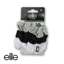 Elite Models Hair Scrunchies 3PK -  Assorted