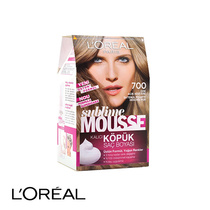 L'Oreal Sublime Mousse Permanent Hair Colour 700 Pure Dark Blonde