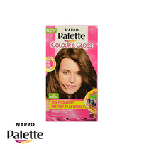Napro Palette Colour & Gloss Hair Colour 6-0 Creme Caramel