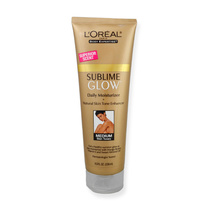 L'Oreal Sublime Glow Daily Body Moisturizer + Natural Skin Tone Enhancer Medium Skin Tones 236ml