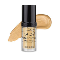 LA Girl HD Pro Coverage Long Wear Illuminating Foundation 642 Fair 28ml