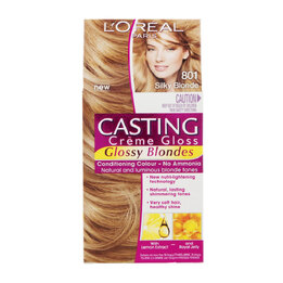 L'Oreal Casting Creme Gloss Hair Colour 801 Silky Blonde
