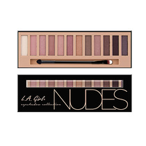 LA Girl Beauty Brick Eyeshadow Collection Nudes 12g