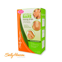 Sally Hansen Naturally Bare Waxing Strips For Faces & Little Spaces 44 Wax Strips