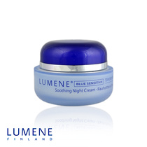 Lumene Blue Sensitive Tender Drops Soothing Night Cream 50ml