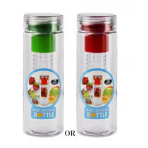 H20 Fruit Infused Water Bottle 780ML Assorted Colours