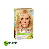 Garnier Nutrisse Permanent Hair Colour 10.13 Light Sandy Blonde Extra Light Beige Blonde