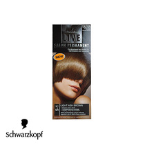 Schwarzkopf Live Salon Permanent Hair Colour 5-1 Light Ash Brown