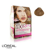 L'Oreal Sublime Mousse Permanent Hair Colour 623 Delicious Light Brown
