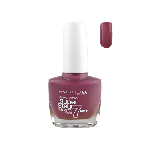 Maybelline SuperStay Gel Nail Color 7 Days 255 Mauve On 10ml
