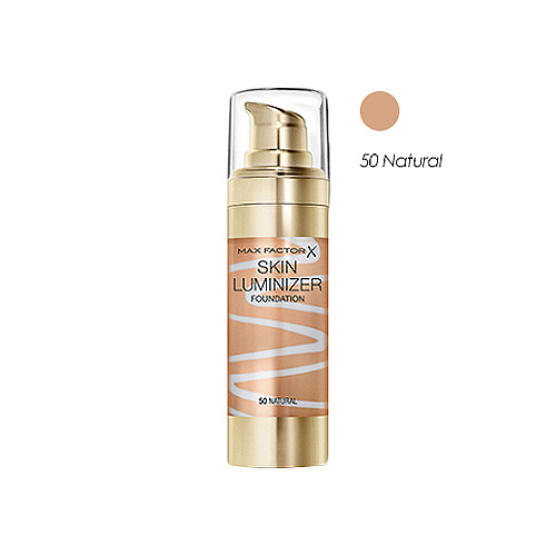 Max Factor Skin Luminizer Foundation 50 Natural 30ml