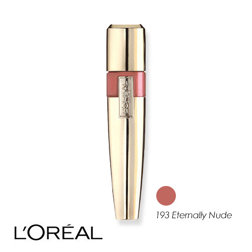 L'Oreal Color Riche Caresse Acqua Lip Lacquer 193 Eternally Nude