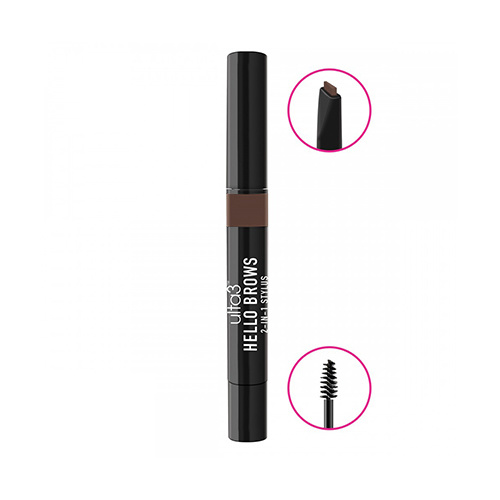 Ulta3 Hello Brows 2 in 1 Stylus Brunette