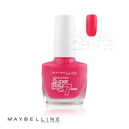 Maybelline Super Stay Gel Nail Color 7 Days 180 Rose Fuchsia 10ml