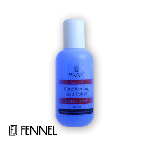 Fennel Nail Polish Remover Acetone - Blue 150ml