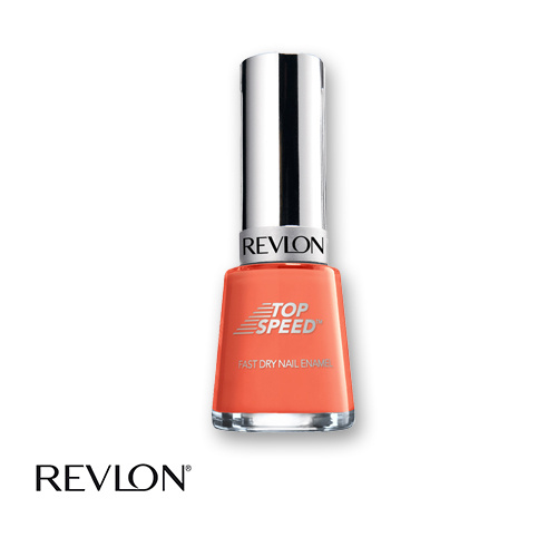 Revlon Top Speed Fast Dry Nail Polish 405 Peachy 14.7ml