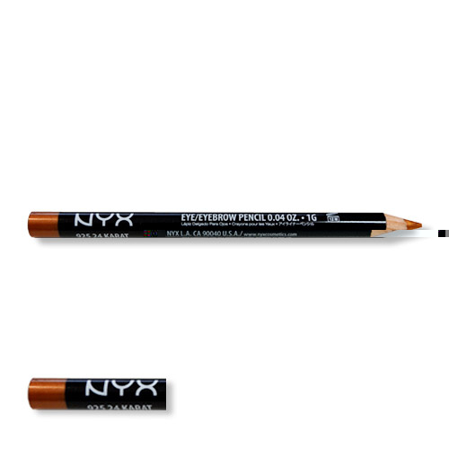 NYX Eye/Eyebrow Pencil 24 Carat