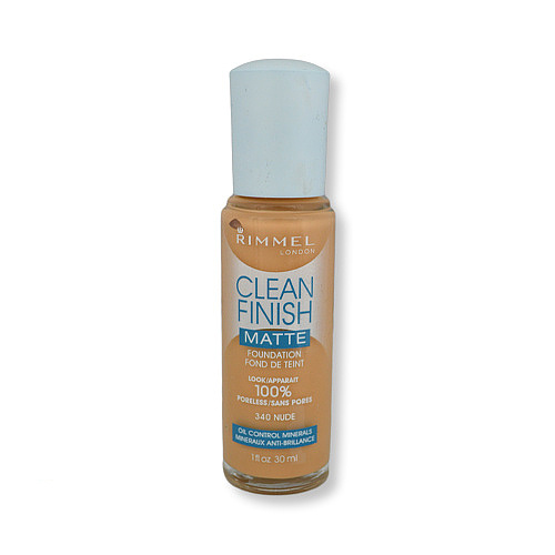 Rimmel Clean Finish Matte Foundation 340 Nude 30ml