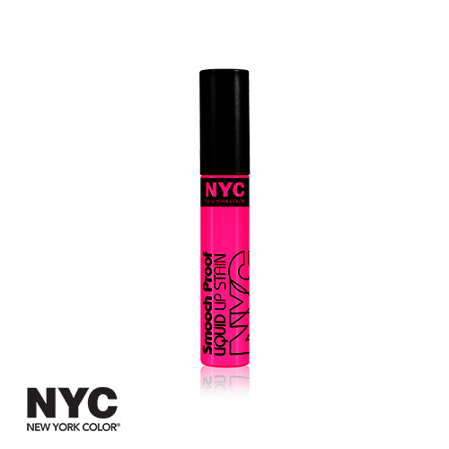 NYC Smooch Proof Liquid Lip Stain 310 Perpetually Mauve 7ml