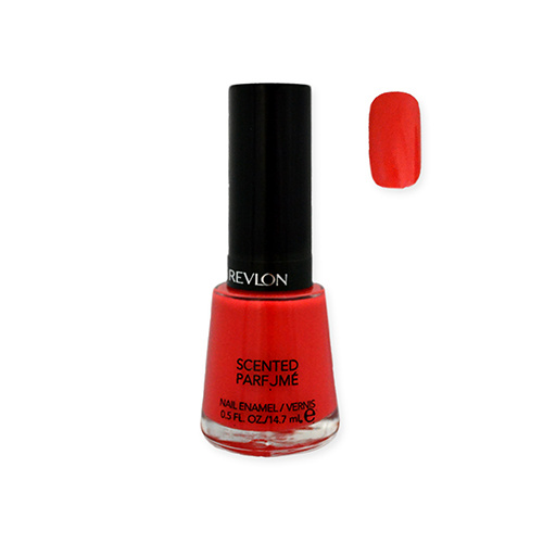 Revlon Scented Parfume Nail Enamel 315 Pretty In Papaya 14.7ml