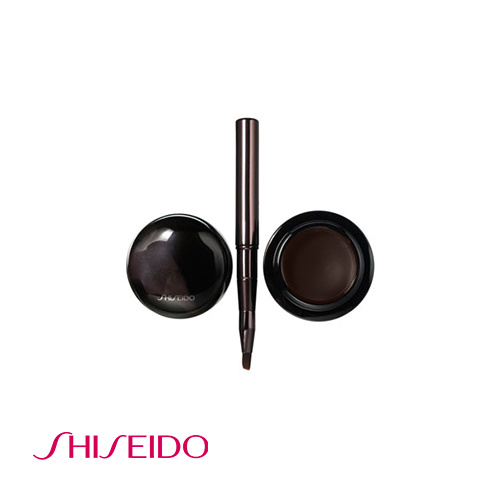 Shiseido The Makeup Accentuating Cream Eyeliner With Brush - 2 Brown 4.5g