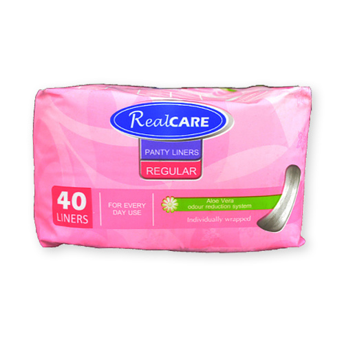 Real Care Regular Panty Liners 40pk