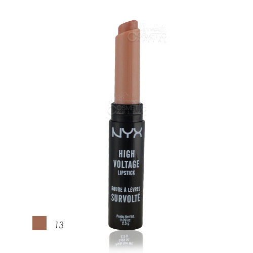 NYX High Voltage Lipstick 13 Stone 2.5g