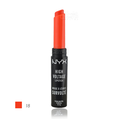 NYX High Voltage Lipstick 18 Free Spirit 2.5g