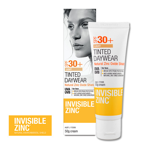 Invisible Zinc Tinted Daywear Light Spf 30+ 50g