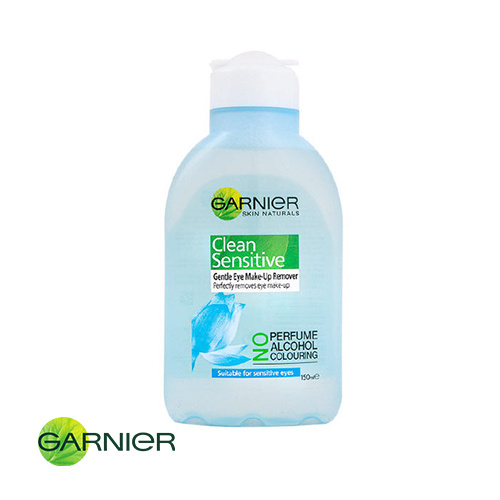 Garnier Clean Sensitive Gentle Eye Make Up Remover Sensitive 150ml
