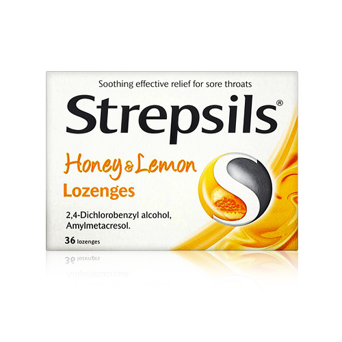 Strepsils Soothing Honey & Lemon 24 Lozenges