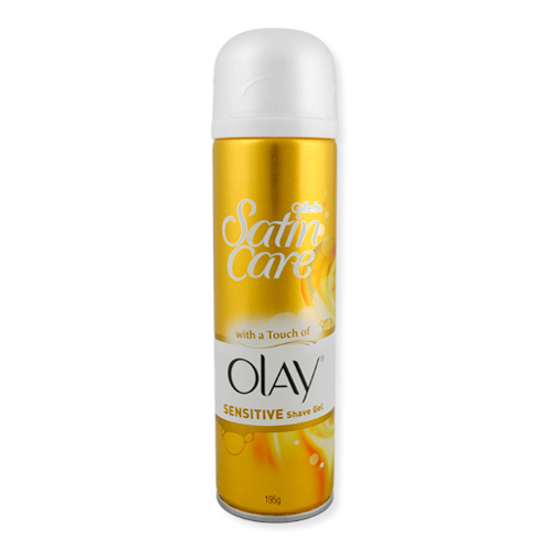 Gillette Satin Care Olay Sensitive Shave Gel 195g