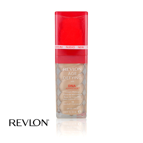 Revlon Age Defying Cream Foundation With DNA 10 Bare Buff 30ml
