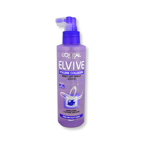 L'Oreal Elvive Hair Root Lift Spray Leave In Volume Collagen 200ml